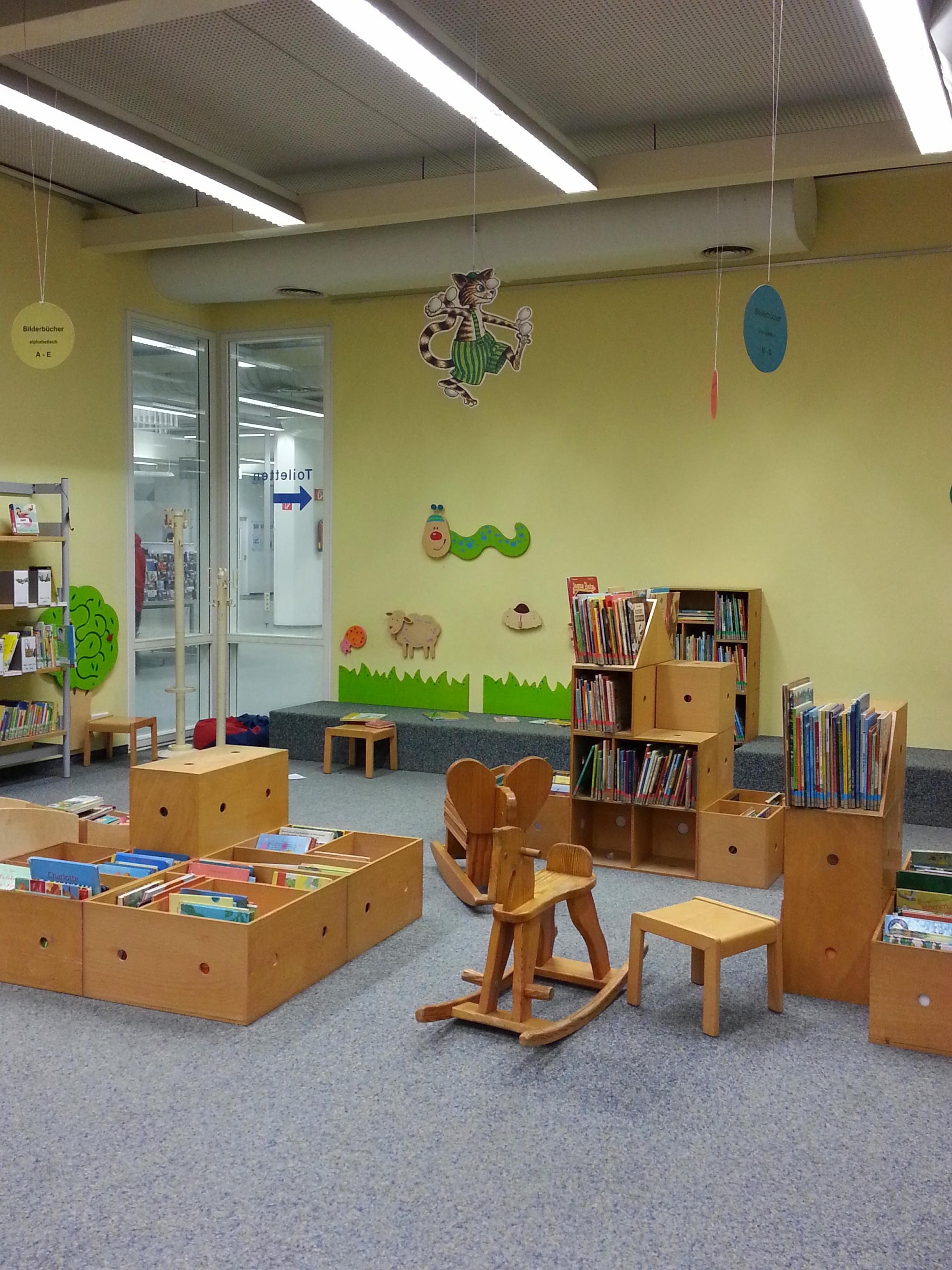 Düsseldorfer Stadtbücherei Kinder- und Jugendbibliothek
