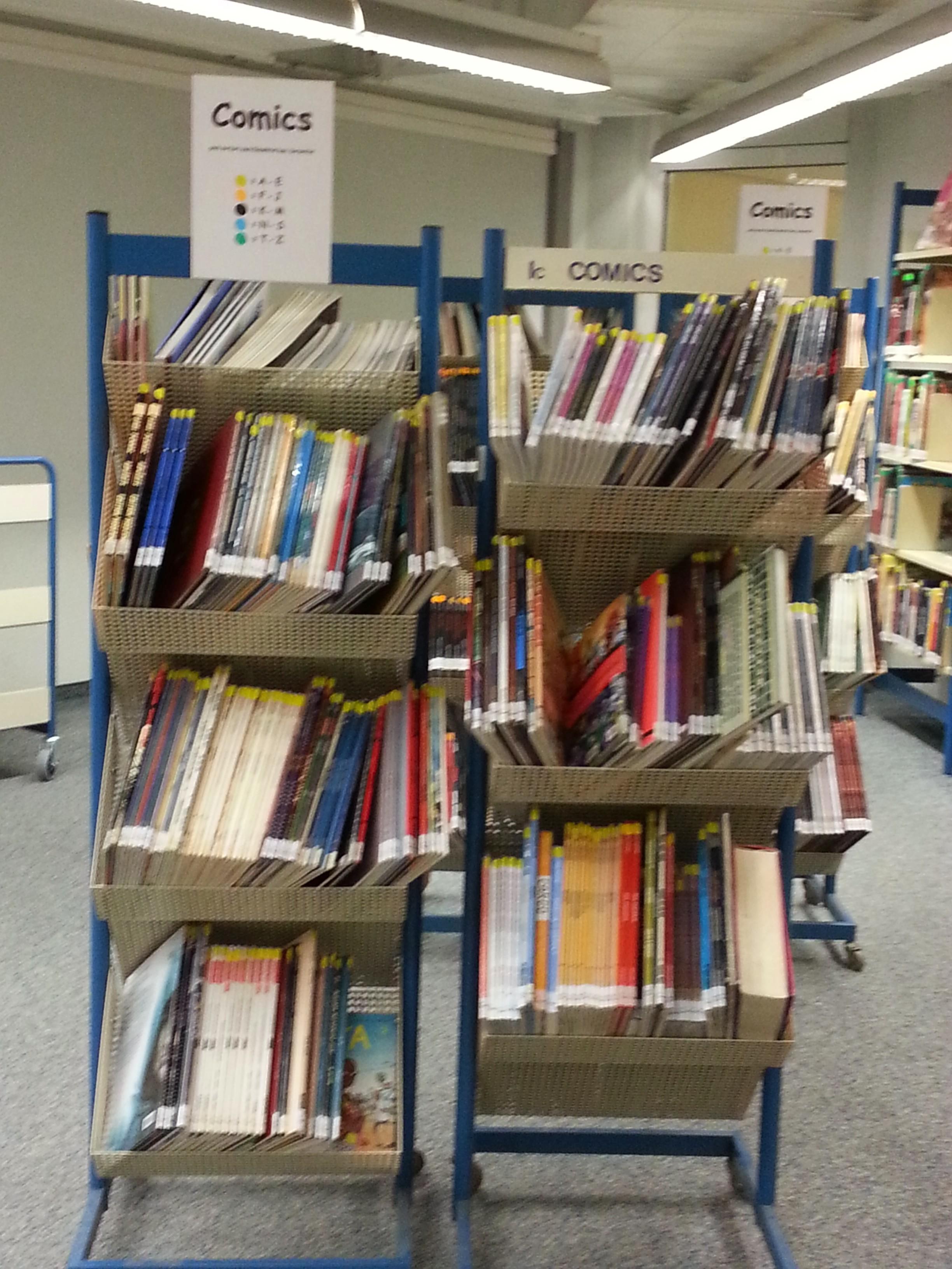 Düsseldorfer Stadtbücherei - Comics für Erwachsene