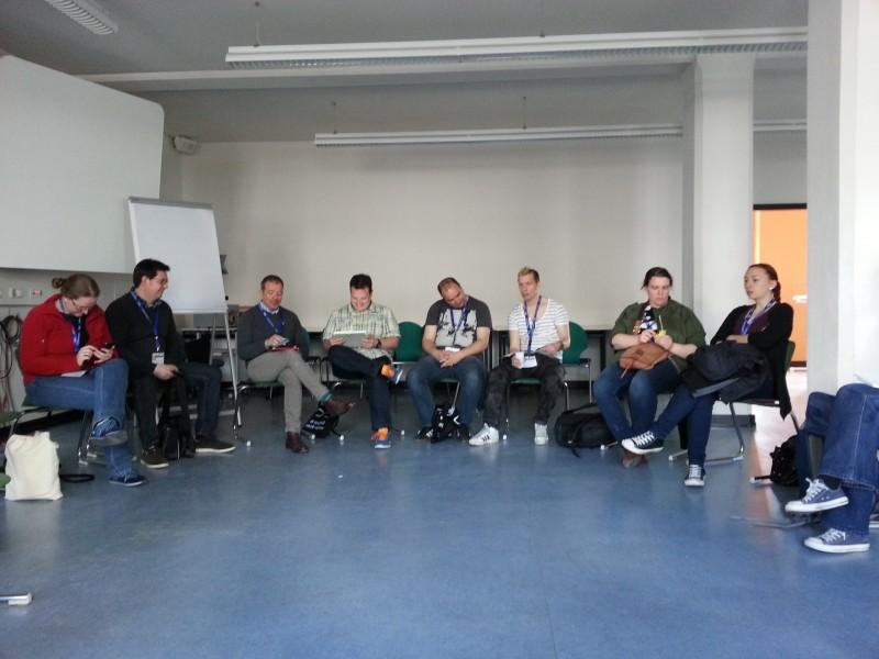 Session auf dem Bibcamp