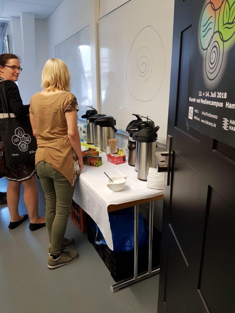 Buffett Tag 1, 11. Bibcamp 2018, Hamburg, 13.07.2018