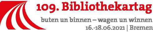 Logo des 109. Bibliothekartages