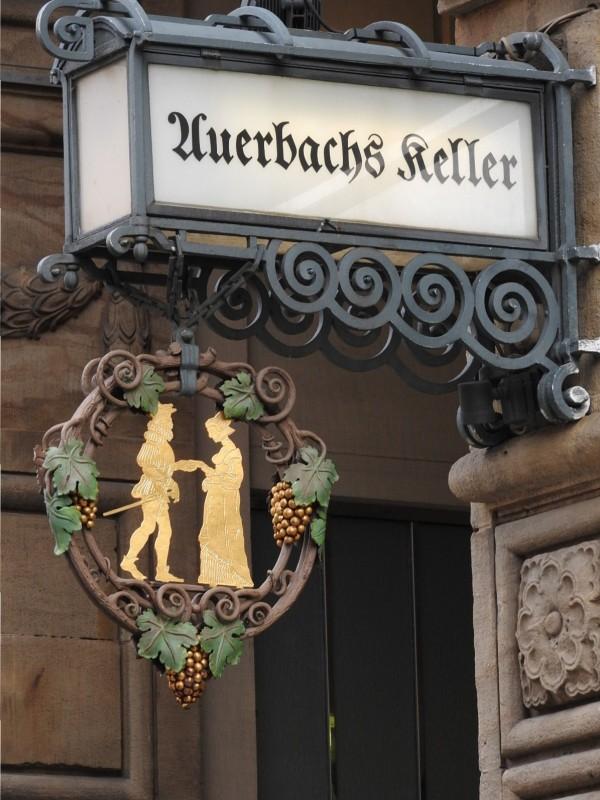 Leipzig Impressionen - Auerbachs Kelller - Stadtbummel