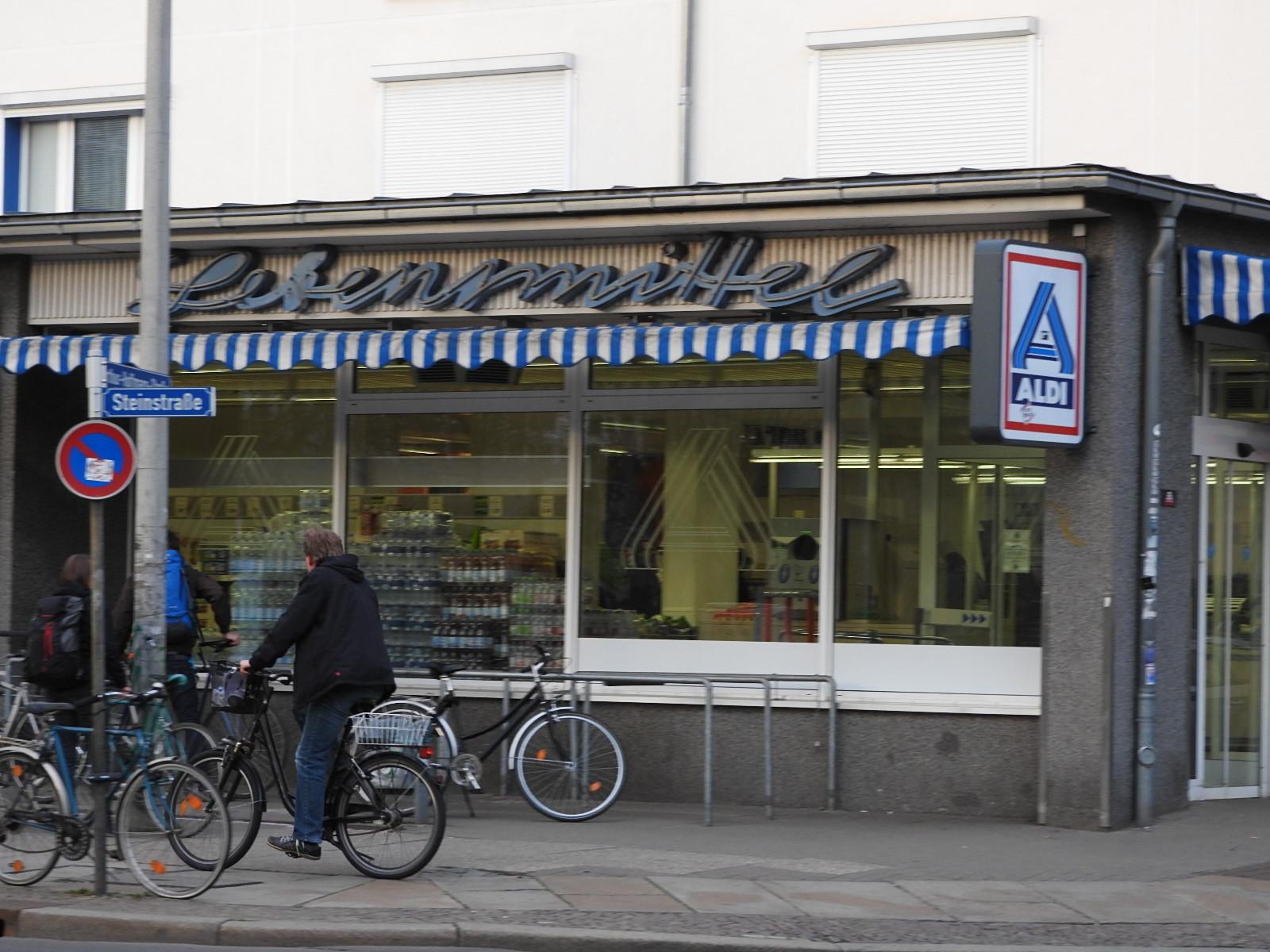 Leipzig Impessionen - Alte & neue Reklame - Auf dem Weg zum STuK