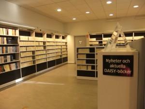 Zentralbibliothek Eingangsbereich rechts