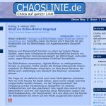 Blog Chaoslinie.de