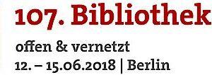107. Bibliothekartag 2018