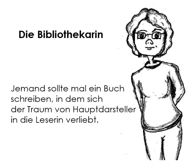 Die Bibliothekarin - Miniserie 02, Nr. 01 - Der Traumman