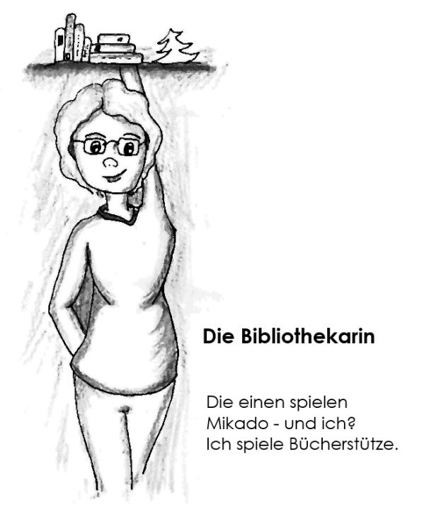 Die Bibliothekarin – Miniserie 02, Nr. 15 – Bücherstütze